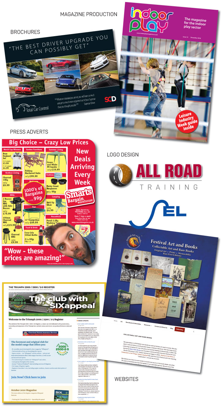 Greystoke Graphics - Creative graphic design solutions for Print and Websites